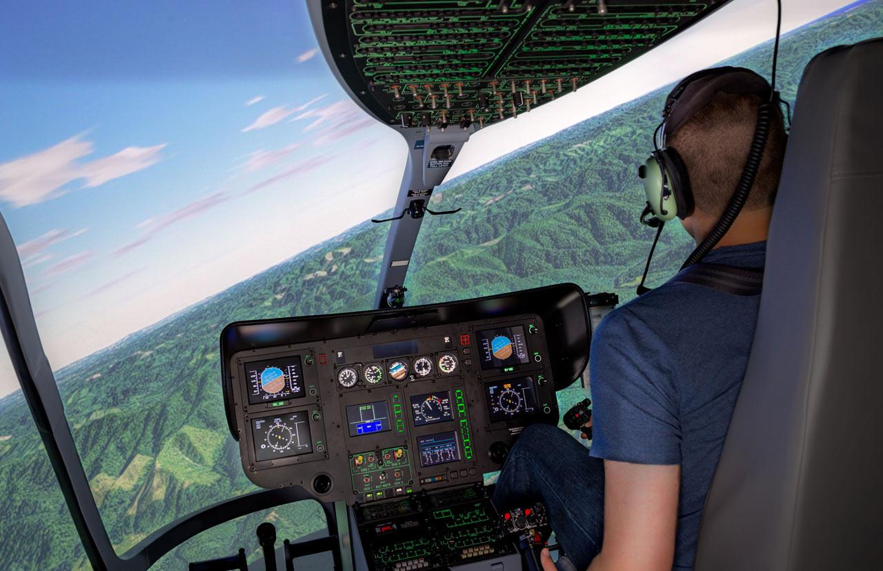 helicopter flight simulators frasca