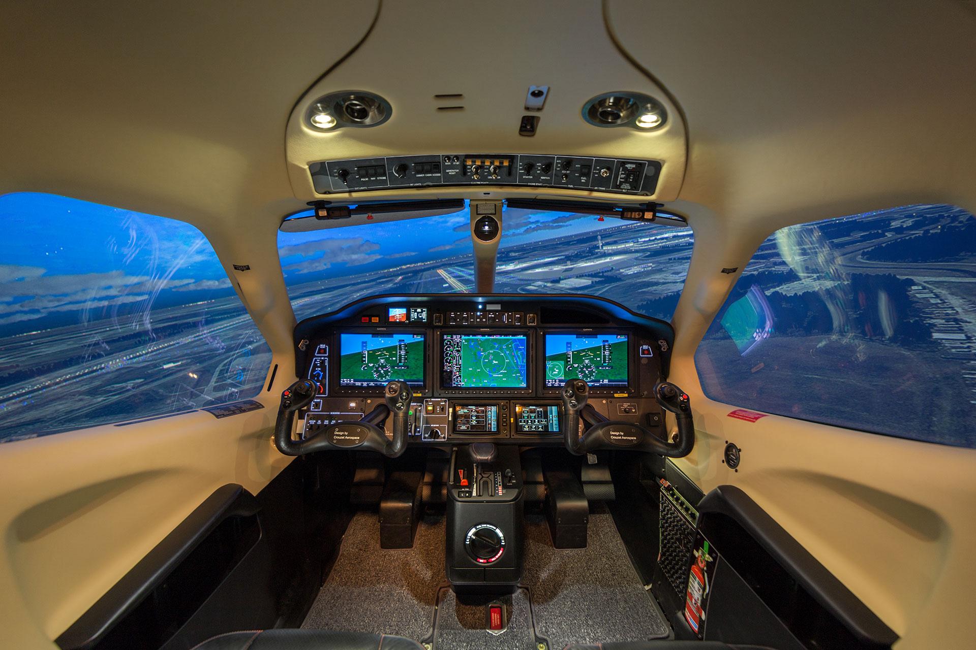tbm 930 frasca flight