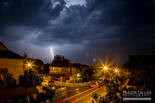 Cranbrook lightning