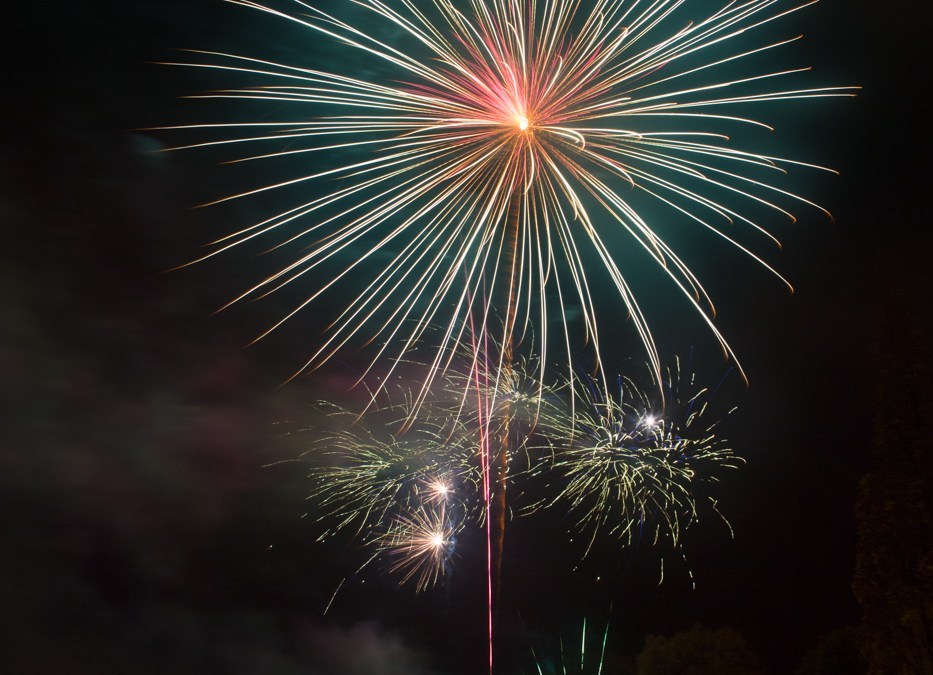 2015 Dunorlan Fireworks Display