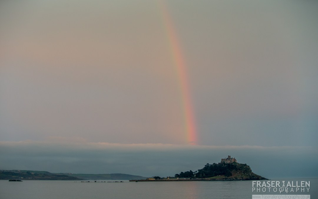 A week spent looking at St Michaels Mount