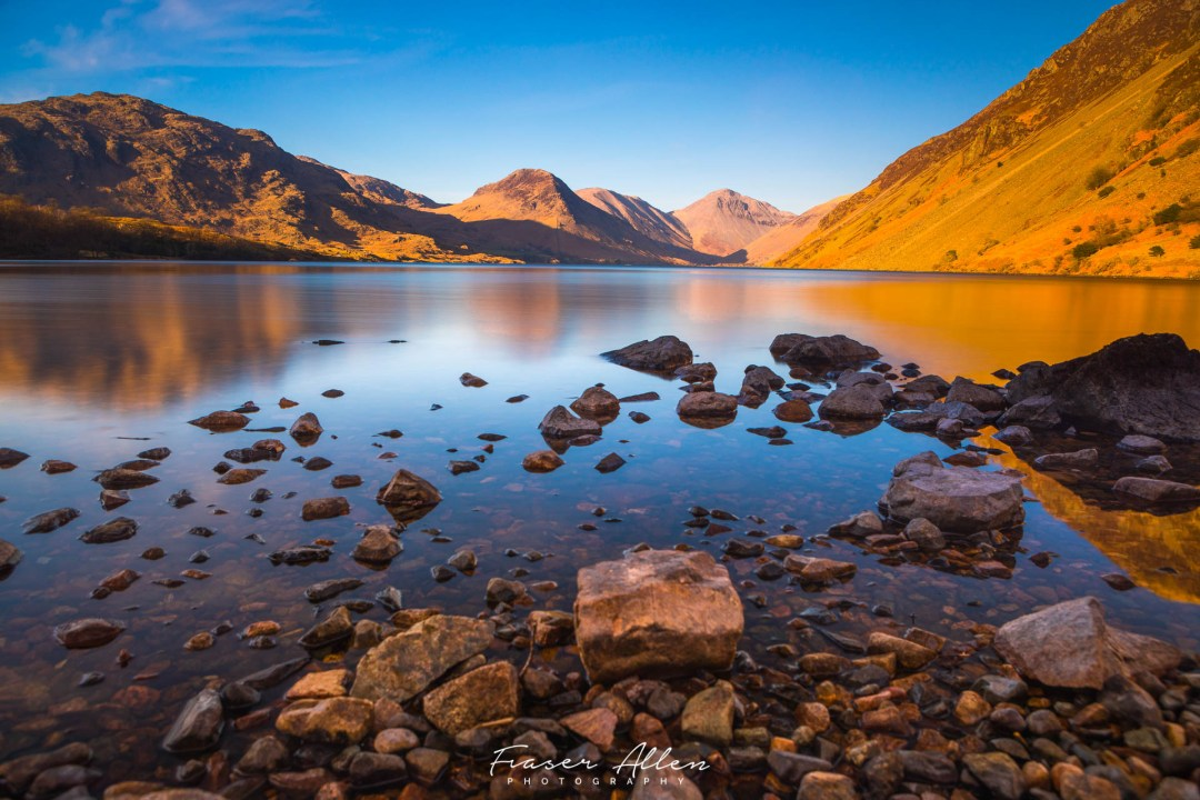 Wastwater sunset