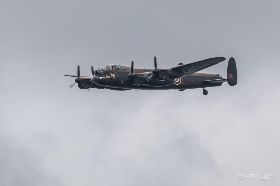 Eastbourne Airshow 2018 - Lancaster