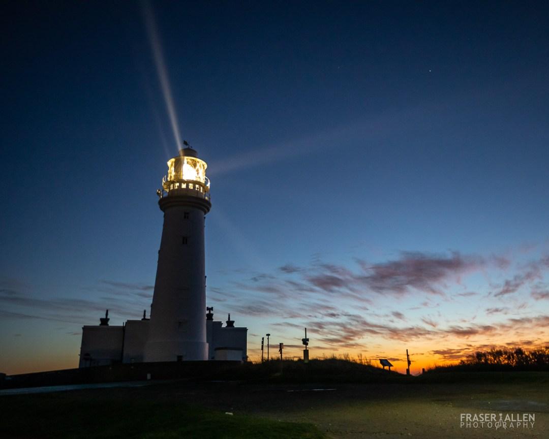 Dawn at Flamborough Head light house