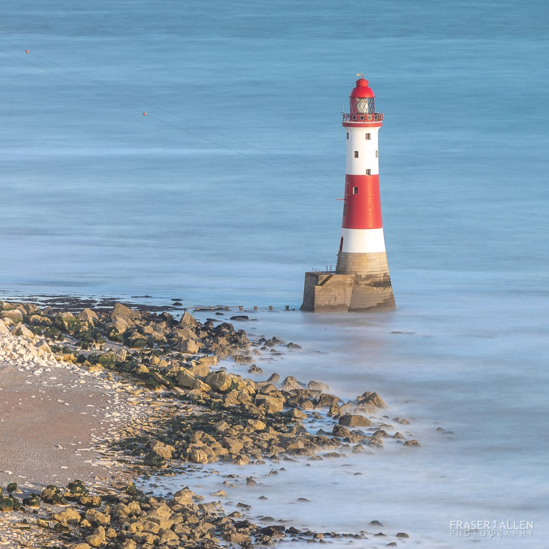 Berling Gap lighthouse at Beachy Head