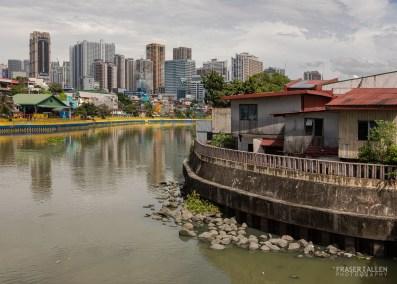 Pasig River Manila by Fraser Allen