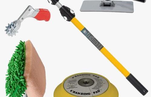 aircraft polishing tools