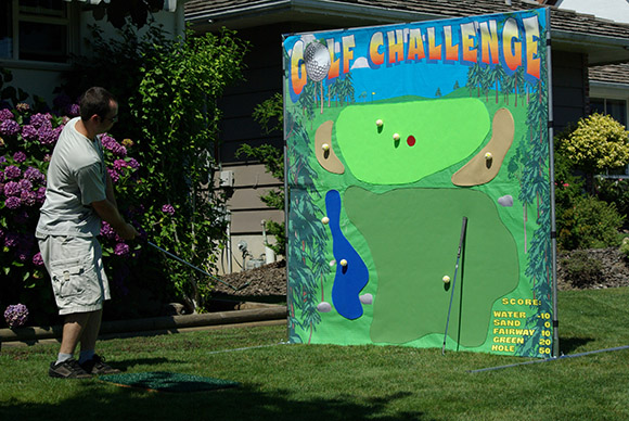 Golf Challenge  Carnival Games  Fraser Valley Party Rentals