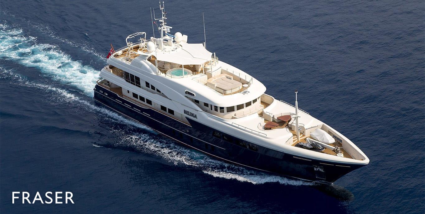 BELUGA Yacht Fraser