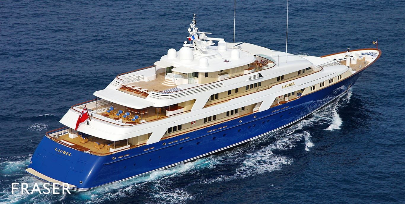 LAUREL Yacht Fraser