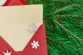 Carta de Navidad para la familia