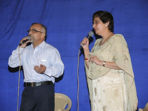 Kersi in a duet with Mrs. Pervin Kotwal