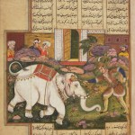 Rostam Nameh: part 6: Rostam and the white elephant