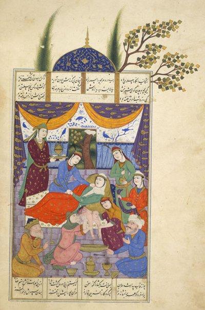 The Wondrous Birth of Rostam