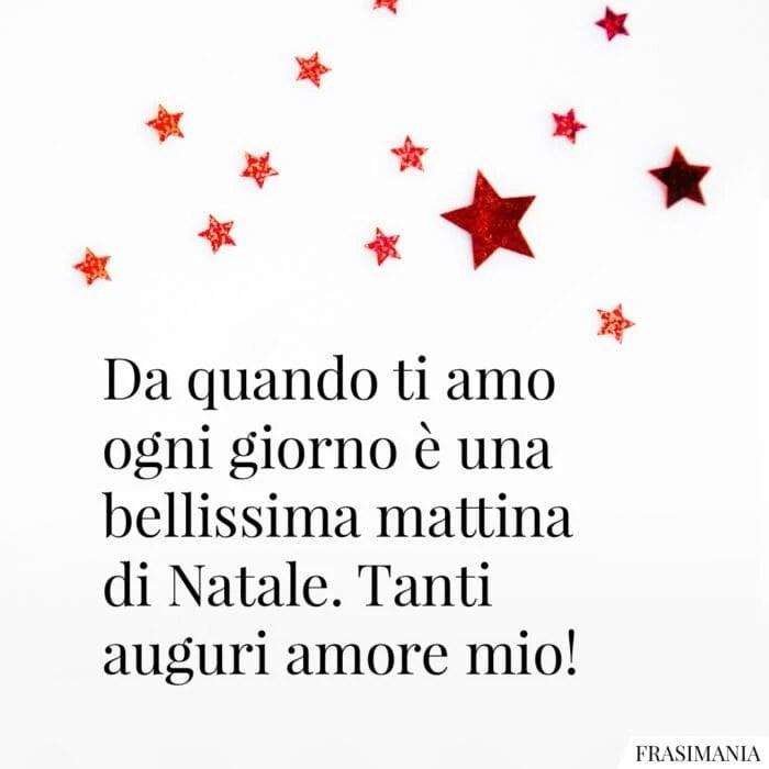 """50 componimenti per augurare """"buon natale!"""" buon natale, amore mio: Auguri Di Natale Amore Mio Le 50 Frasi Di Auguri Piu Dolci E Romantiche Con Immagini"""