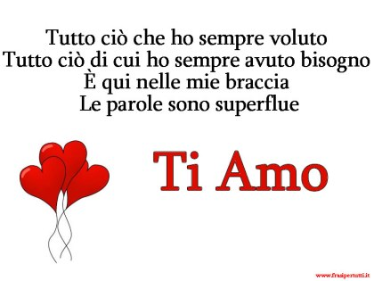 Immagini Frasi d'amore