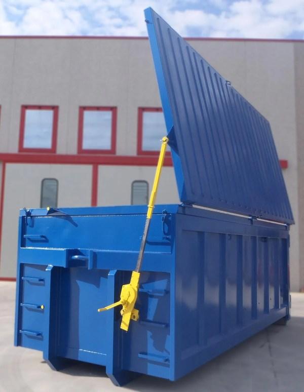 container per rottami metallici