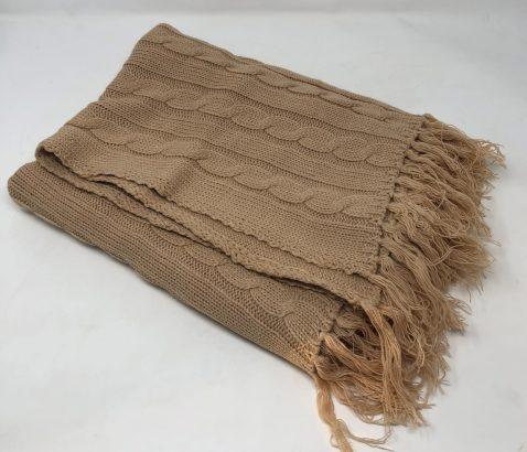 Coperta tessuto ROSA in lana