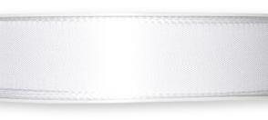 Nastro taffeta Bianco 25mm