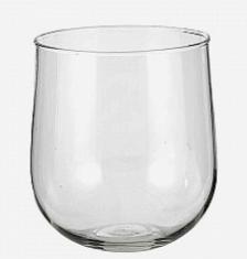Vaso vetro zero D16,50 H17,60