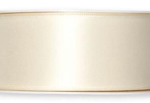 Nastro doppio sateen Avorio 40mm