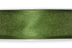 Nastro organza Verde 25mm
