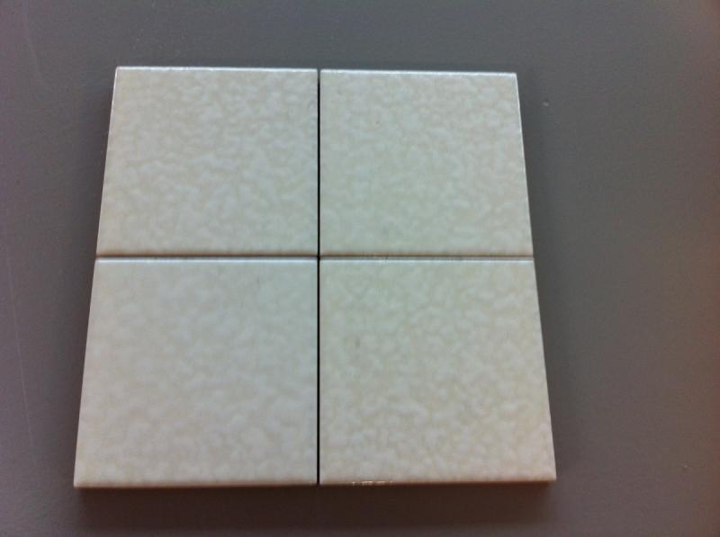 Rivestimento classico in ceramica bianca  outlet