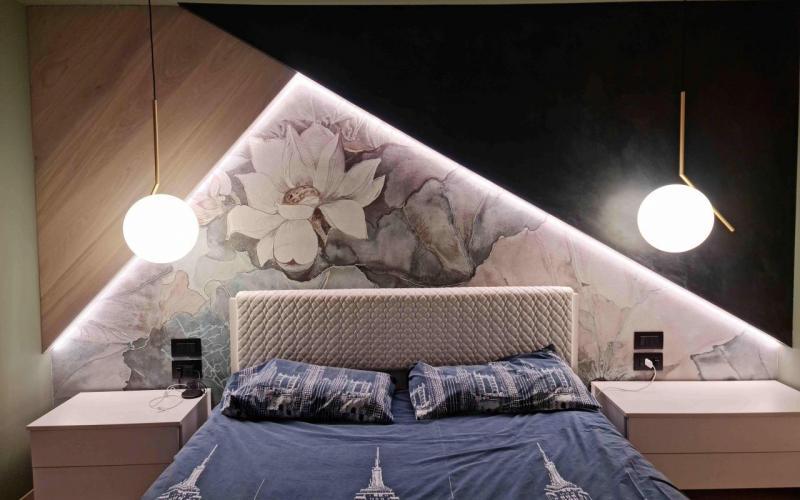 Descrizione adesivi personalizzati per camera da letto, decorazione da parete. Arredamento Camere Da Letto Fratelli Pellizzari