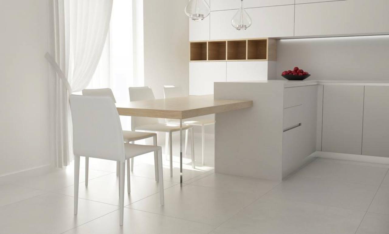 Cucina moderna tavolo separato o penisola  Fratelli