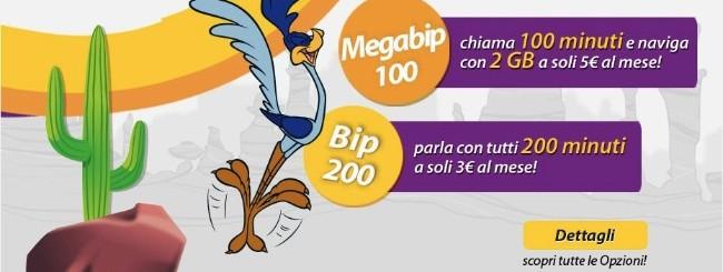 Bip Mobile: Bip 100 e 200 Mega