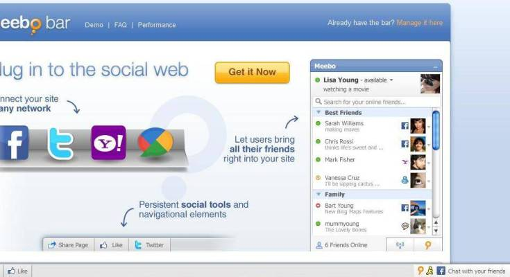 Google chiude Meebo Bar: Passa a Google+