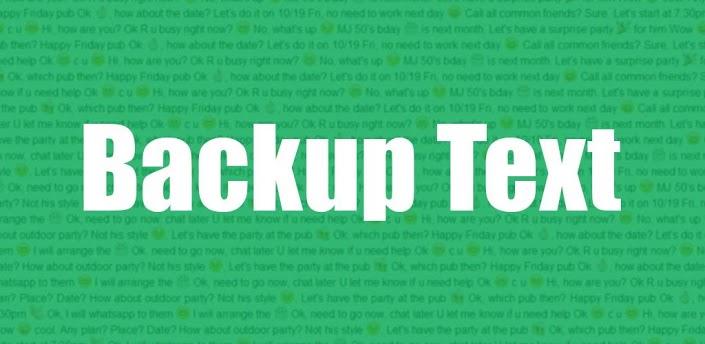 Salvare messaggi WhatsApp sul PC con Backup Text for WhatsApp