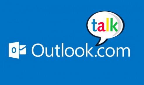 Integrare Google Hangouts a Outlook.com