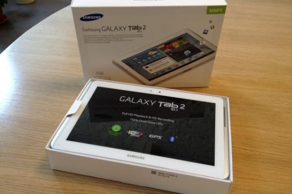 Android 4.1.2 Jelly Bean su Samsung Galaxy Tab 2 10.1 Vodafone