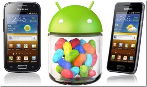 Novità aggiornamento Android 4.1.2 su Samsung Galaxy S Advance Italia
