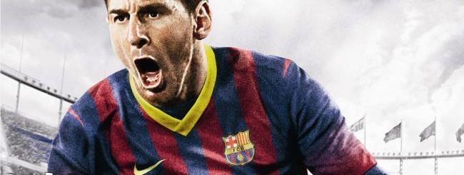 Copertina FIFA 14 con Messi