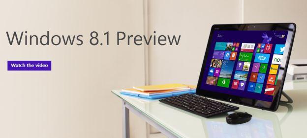 Download Windows 8.1 Preview: Novità video