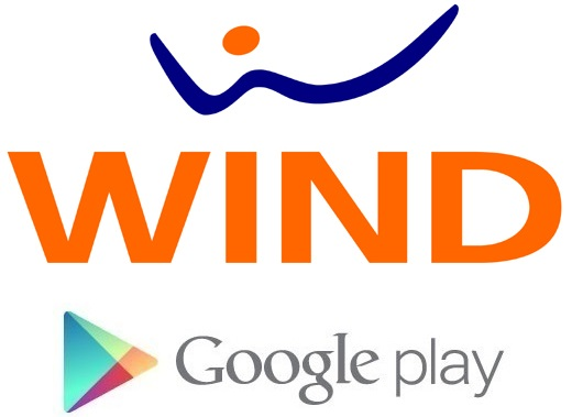 Pagare applicazioni Android dal Google Play Store con credito Wind