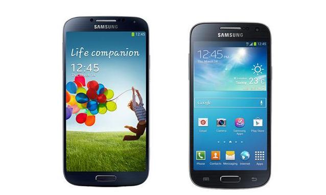 Confronto tra Samsung Galaxy S4 e Galaxy S4 Mini