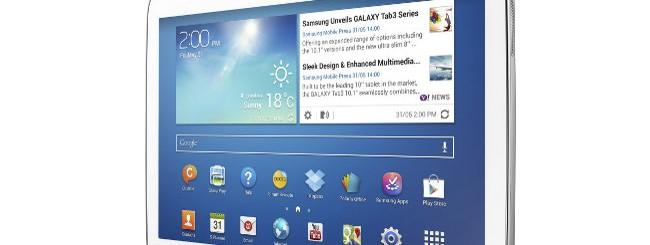 Samsung Galaxy Tab 3 da 8, 10 pollici: Caratteristiche tecniche