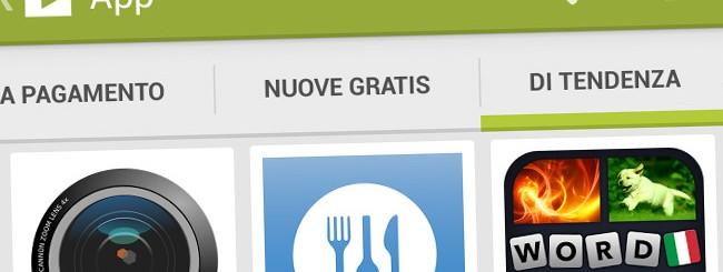 Wind: Pagamento con SIM sul Google Play Store