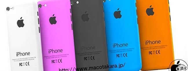 iPhone low cost: 5 colori