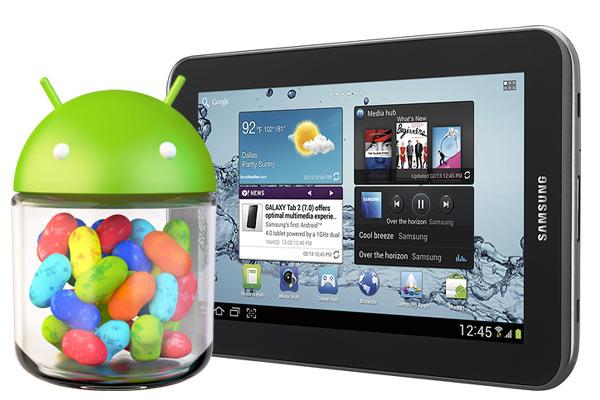 Android 4.1.2 su Samsung Galaxy Tab 2 7.0 TIM