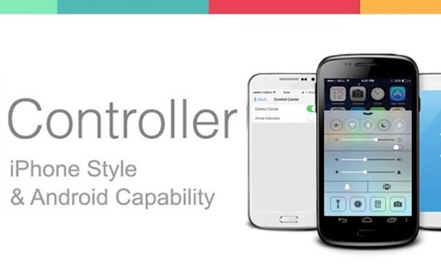 Control Center di iOS 7 sul Play Store per Android