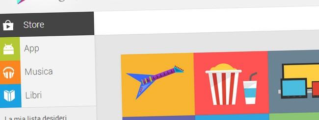 Google Play Store: Novità versione Web