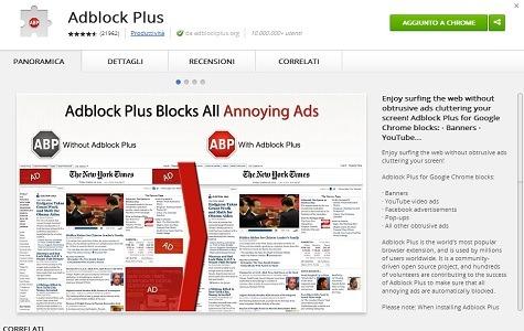 Google si accorda con Adblock Plus per non bloccare Adsense