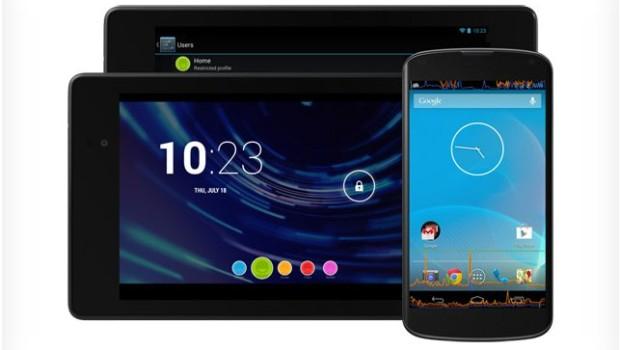 Guida installazione manuale Android 4.3 su Nexus 4, 7, 10 e Galaxy Nexus