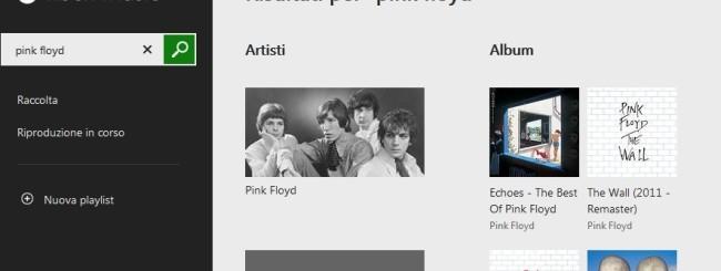 Microsoft: Versione Web di Xbox Music
