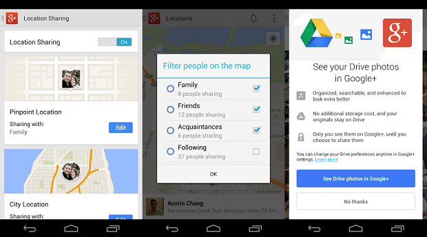 Google+ 4.1 per Android: Novità e download APK