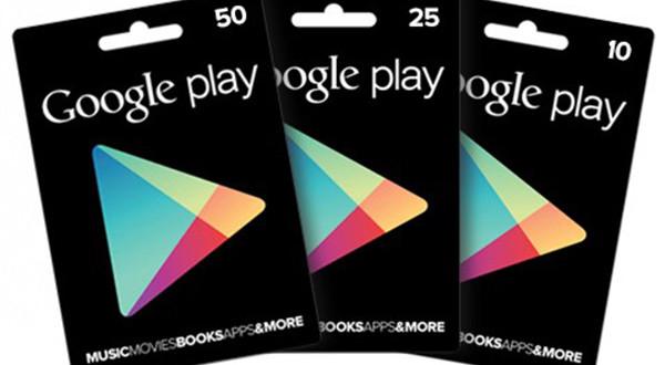 Google Play Gift Card in Italia